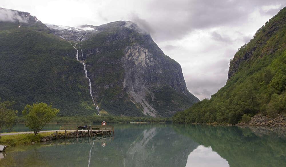 Baläifossen waterfalls