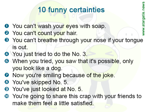 10 funny certainties